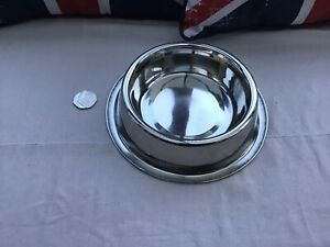 Dog Bowl Stainless Steel 16oz Brand New