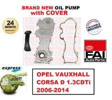 Pour Opel Corsa D 1.3CDTi 2006-2014 Tout Neuf Fai Huile Pompe Avec Housse