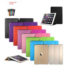Ultra Slim Smart Cover PU Leather Case Stand For iPad Air 2 iPad 6 Black Color