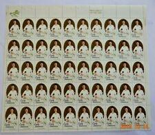 Scott #1436 $0.08 Emily Dicjinson Mint Sheet  ( Face Value - $4.00 )