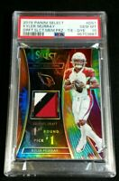 PSA 10 POP 3 KYLER MURRAY RC JSY /25 TIE DYE PRIZM *SSP ROOKIE PATCH 2019 Select