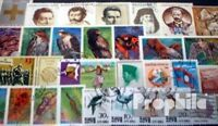 all World 1000 different stamps