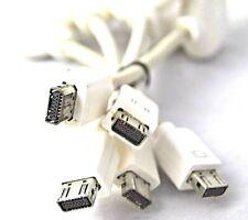 Lot of (5) Apple Mac Mini/Macbook MINI DVI to VGA Adapter 603-3796 *Free S/H.