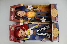 Disney Toy Story Pull String Talking Woody And Jessie Doll Figures