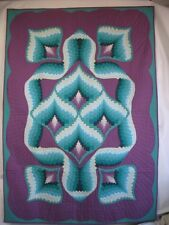 "New Pieced Bargello Quilt Wallhanging PATTERN 37""X52"""
