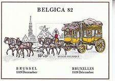 Belgien / Belgique Nr. 2129** (Bl. 53**) Postkutsche