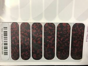 Jamberry Nails (new) 1/2 sheet ECLIPSE OF THE HEART 0916