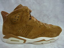 AIR JORDAN RETRO 6 VI GOLDEN HARVEST 11.5 WHEAT 384664 705 CARMINE INFRARED LOT