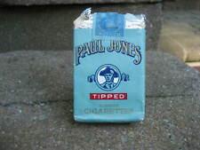Vintage Paul Jones Cigarette Tobacco Complete Package EMPTY
