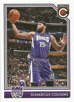 DeMarcus Cousins Panini Complete 2016/17 - NBA Basketball Card #151