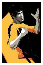 Craig Drake Bruce Lee Mondo poster art print Enter the Dragon Game of Death Rare