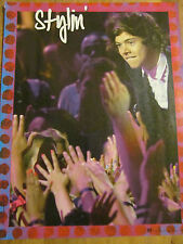 Harry Styles, One Direction, Full Page Pinup
