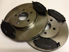 Ford Mondeo MK3 Front Brake Discs and Front Brake Pads set Borg & Beck Premium