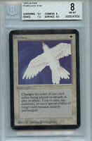 MTG Alpha Purelace BGS 8.0 NM-MT Card Magic Amricons 7630