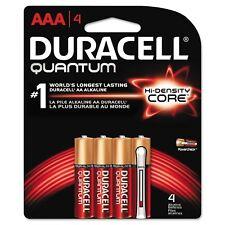 - Quantum Alkaline Batteries with Duralock Power Preserve Technology, AAA, 4/Pk