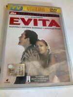 DVD EVITA CON MADONNA BANDERAS PRYCE