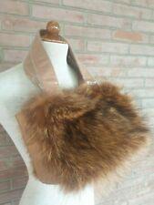 Borsa in pelliccia di marmotta e pelle sac de fourrure Beute fur bag Pelztasche