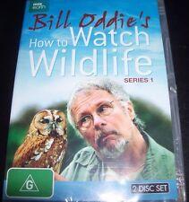 Bill Oddies How To Watch wildlife Series 1 BBC (Australia Region 4) DVD - New