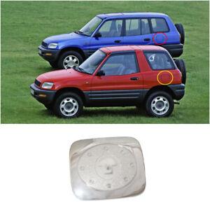 Fit For 1996-2000 Toyota RAV4 SUV Chrome Exterior Fuel Tank Cap Cover Trim 1pcs