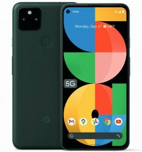 """Google Pixel 5a 5G 6.34"""" 6/128GB Black IP68 Octa-core Android 11 Phone By FedEx"""