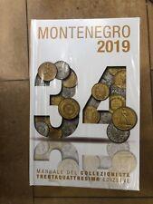 34a EDIZIONE Catalogo Manuale delle Monete Italiane Montenegro  2019