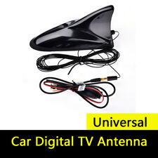 Universal 12V Car Digital TV Box SMA Plug Antenna DVB-T DVB-T2 ATSC ISDB Black