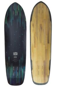 "Luca Ursa Longboard Deck Skate-board 37.4"" (95x25cm, Wheelbase 60-65.7cm) NEW UK"