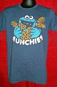 Sesame Street Cookie Monster Mens Unisex Small T-Shirt - New
