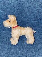"5"" ANTIQUE STEIFF MOHAIR DOG PUPPY VINTAGE GERMANY GERMAN DOLL STUFFED ANIMAL 2"