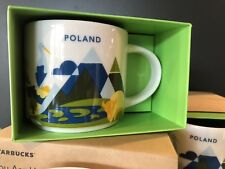 Starbucks POLAND 2017 - You Are Here - ( YAH ) Global City Icon Mug with Box