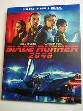 Blade Runner 2049 w/Slipcover Usa (Blu-ray, Dvd, Digital Hd, 2017) Harrison Ford