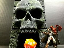 Dice Tower Mini Skull Tower Dungeons and Dragons Pathfinder D&D  RPG DND D20