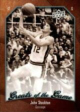 Cartes de basketball Upper Deck john stockton