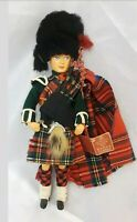 Peggy Nisbet Doll Scottish Traditional Costumes Circa 1950's In Orig Box