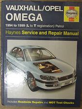 Vauxhall Opel Omega 1994 ~ Haynes manuel atelier 1999 3510