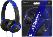 Externos supraaurales azul de audio portátil