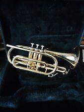 Sonata Student Bb Cornet With case -