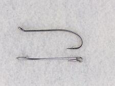 25 #6 Steelhead Salmon Fly Tying Hooks 2x Heavy Wire Black Nickel 7999 (25 pack)