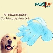 Paws UP Pet Fingers Brush Comb Massage Palm Bath