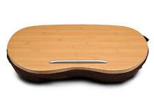STASH* Bamboo Premium Laptop / Tablet Pad Cushion Lap Desk Tray Portable Speaker