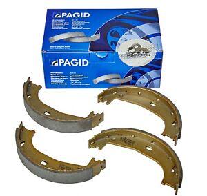 PAGID REAR HAND BRAKE SHOES FOR BMW 316D 318D 320D 116D 118D 120D Z4 H9160