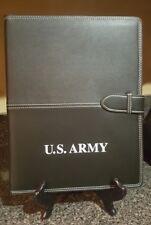 US Army Leather Folder/Journal/Binder