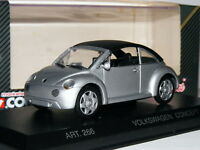 Detail Cars ART266 1994 Volkswagen Beetle Concept 1 Closed Cabriolet Silver 1/43