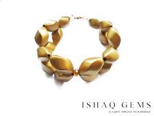 Bohemian Style Gold Beaded Sparkling Crystal Choker Bracelet Womens Gift For Her