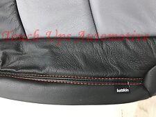 2013-2017 Dodge Ram Crew Cab Katzkin Black Diesel Gray Salsa Leather Seat Kit
