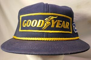 Goodyear #1 in Racing Indianapolis 500 Indy Car Snapback Patch Hat Corded 1994