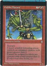 TCG MtG 160 Magic the Gathering Goblin Mutant Misprint-Miscut / Fehldruck