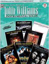 Star Wars, Harry Potter, Superman Sheet Music for Cello W/ Piano Acc. & CD