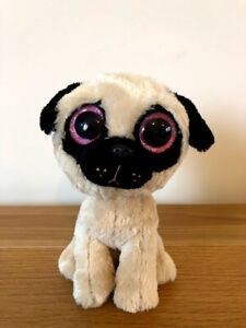 TY BEANIE BOO PUGSLY THE DOG NEW WITH NO HANG TAG BOOS