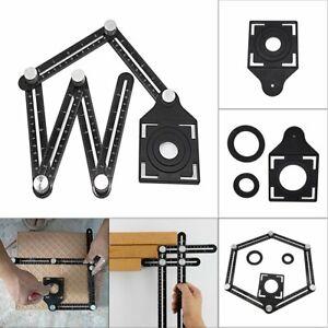 6 Folding Aluminum Alloy Six-Sided Multi-Angle Measuring Tool Ceramic Locator L